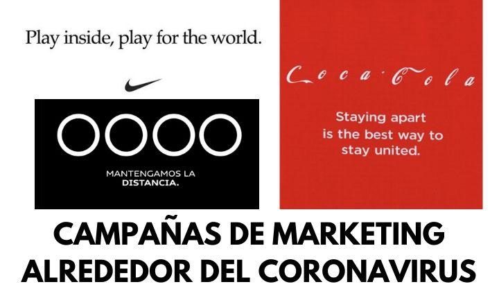+10 creativas campañas de marketing alrededor del coronavirus