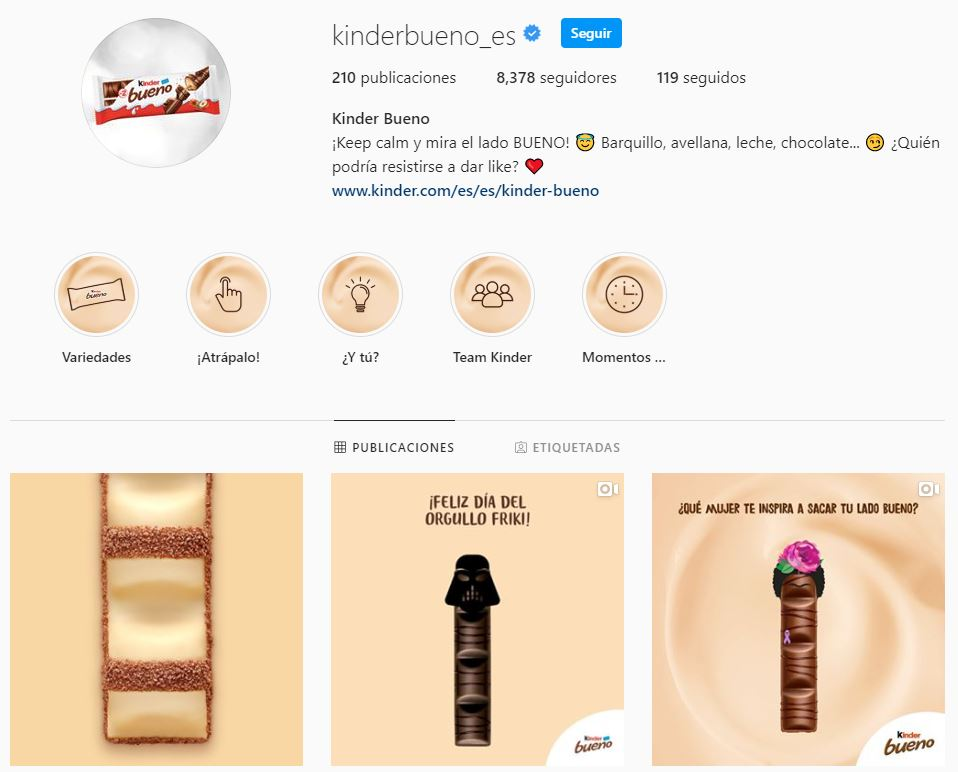 Estrategia gráfica en Instagram