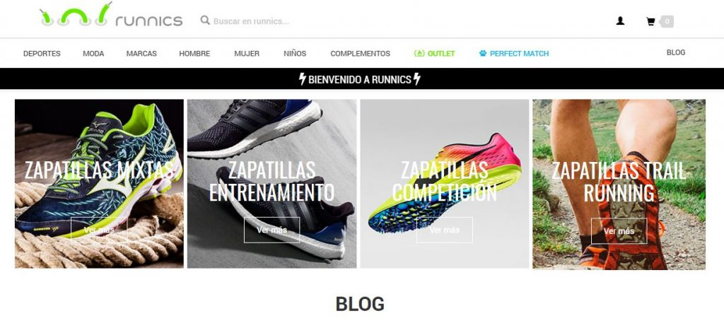 El marketplace de Runnics