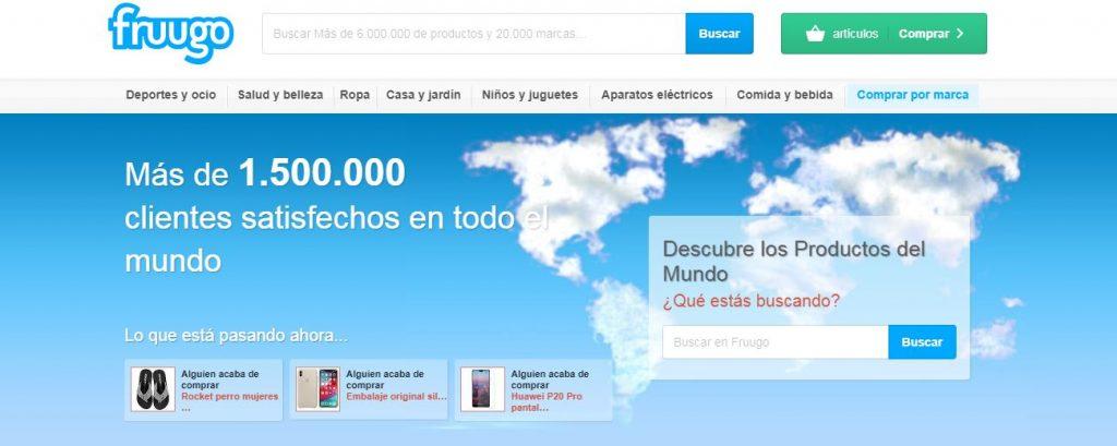 Web de Fruugo