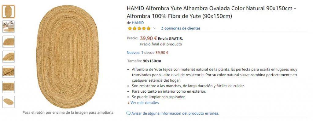 Producto de Amazon