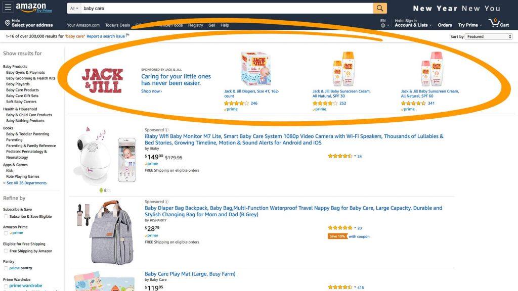 Sponsored Brands de Amazon