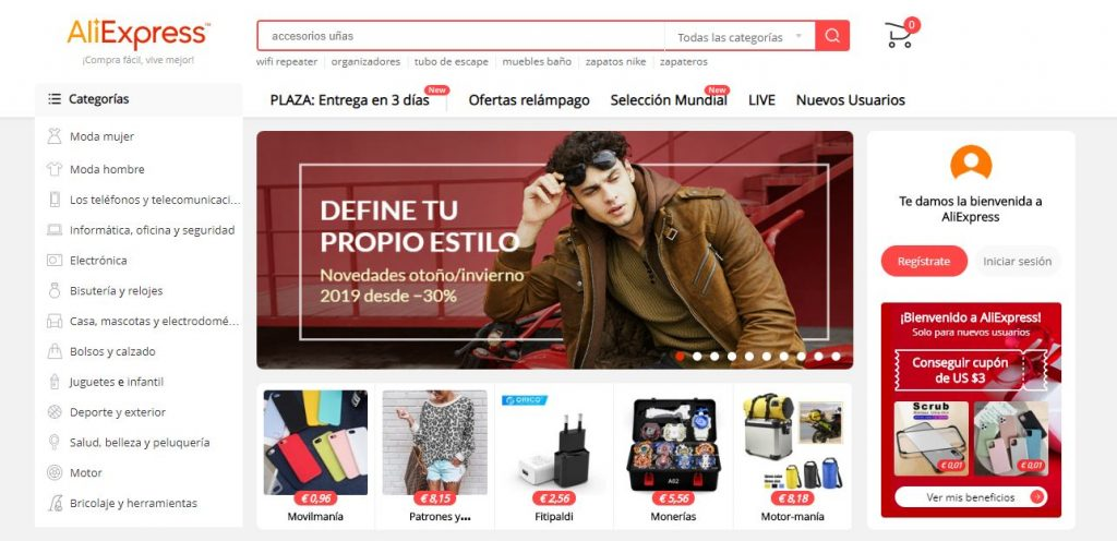 Marketplaces en Europa: Aliexpress