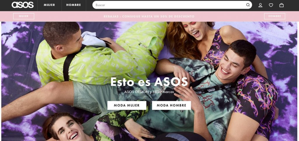 Marketplaces en Europa: Asos