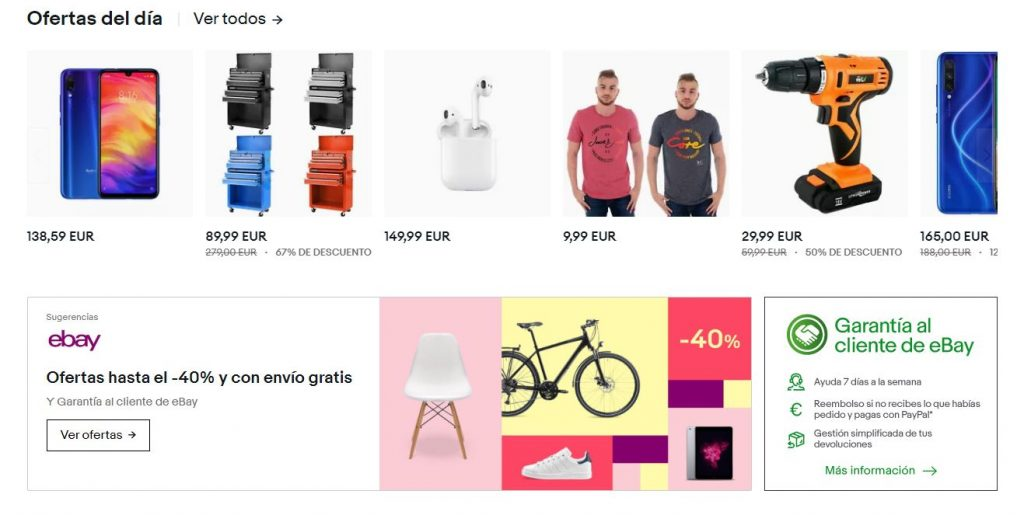 Ofertas en marketplaces