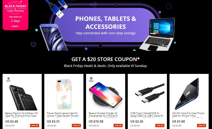 Aliexpress BlackFriday Ofertas