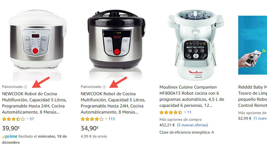 Sponsored Products de Amazon