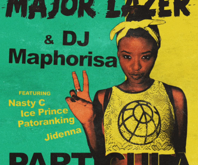 particula chords by major lazer ft iceprince nasty c, jidenna patoranking and dj mahorisa-1