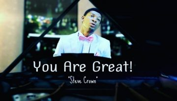 Steve Crown You Are Great Chord Progression on Piano, Guitar and Keyboard yallemedia.com