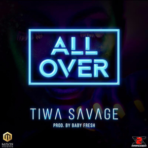 Tiwa Savage all over chord progression on piano, guitar and keyboard yallemedia.com
