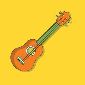 picture of ukulele on yalle media