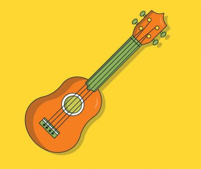 picture of ukulele on yalle media