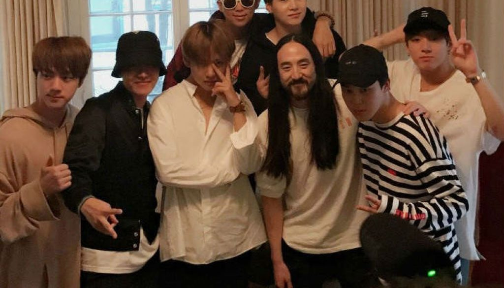 CHORDS: Steve Aoki feat  BTS - Waste It On Me Piano