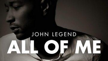 John Legend - All Of Me chords