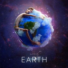 Lil Dicky earth cover