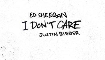 Ed Sheeran and justin bieber I dont care chords