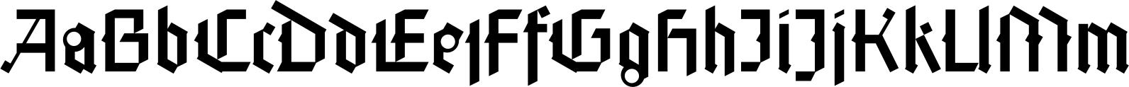 Faber Gotic