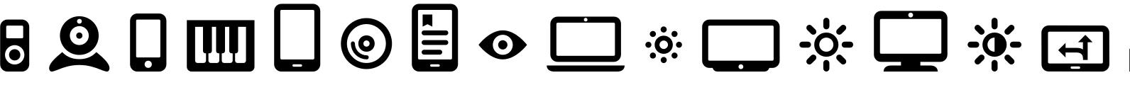 Vivala Media Icons