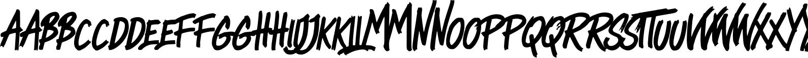 Heady Rough (SVG Font)