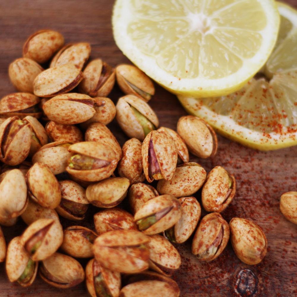 14 oz Bag Chili Lemon Roasted Pistachios