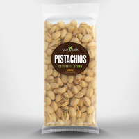 garlic roasted pistachios bag