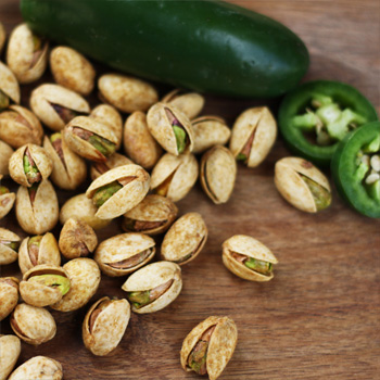 14 oz Bag Jalapeno Roasted Pistachios