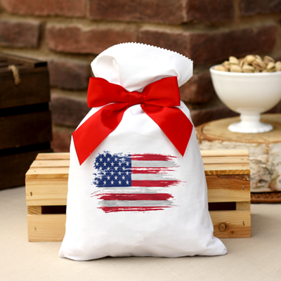 2 lb Patriotic Bag Roasted & Salted Pistachios