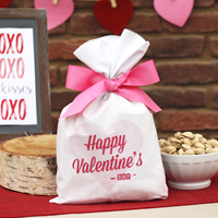 2 lb Valentine Bag Roasted & Salted Pistachios