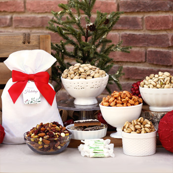 Holiday Nuts & Treats Basket