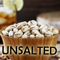 25 lb. Roasted UNSALTED Pistachios