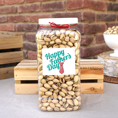 4 lb Father's Day Jug of Roasted & Salted Pistachios