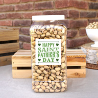 4 lb St. Patrick's Day Jug of Roasted & Salted Pistachios