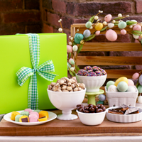 Green Easter Gift Box