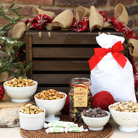 Holiday Nuts & Treats Basket