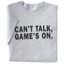 Game's on Sports Tee