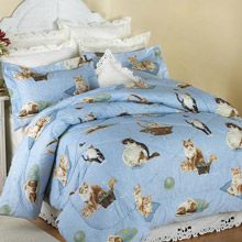 Cat's Meow Comforter Set