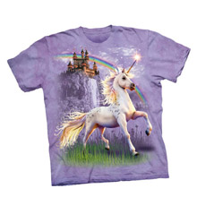 Unicorn Castle Sweet Girls Youth Tee