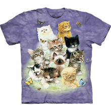 Fluffy Felines Youth Tee