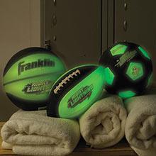 Glow-In-The-Dark Sports Balls