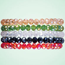 Sparkling Stretch Bracelets - Set of 5