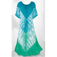 Caribbean Tie-Dyed Dress