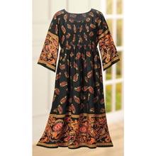 Opulent Paisley Dress