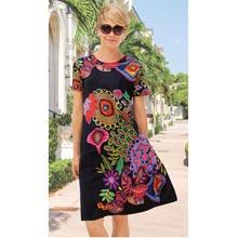 Wildly Wonderful Print Dress