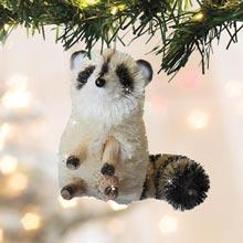Buri Wildlife Ornament - Racoon