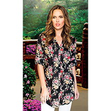 Floral Fantasy Tunic
