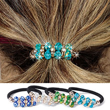 Magnificent Gems Ponytail Holder