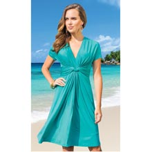 Slimming Twist Dress