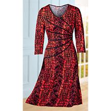 Slimming Angles Knit Dress