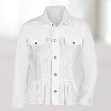 Lacy Twill Jacket