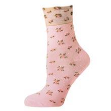 Victorian Rosebud Socks